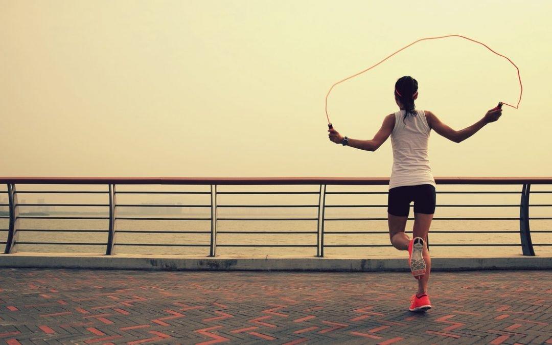 Salto della corda e performance della corsa